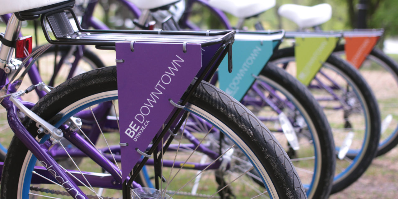RIDE DOWNTOWN – DTNYXE Launches Free Bike Rental Service to Downtown Hotels