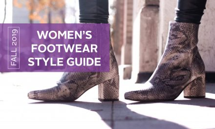 Women's Footwear Style Guide for Fall 2019