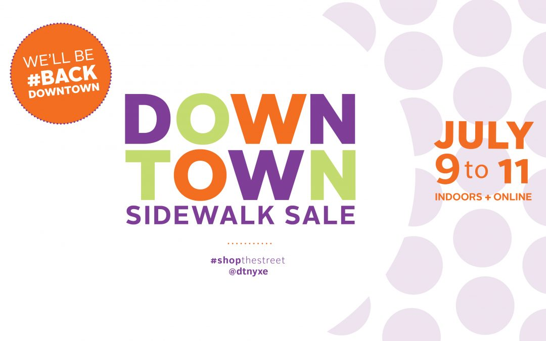 The Sale Must Go On! Downtown Sidewalk Sale