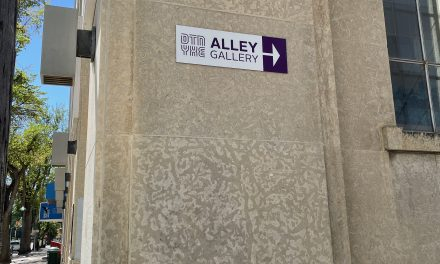 Wander through the back #AlleyGallery!